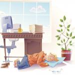 Drzemka w pracy, czyli restart umysłu