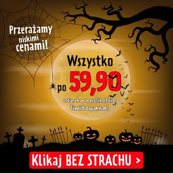 Halloween - promocja 59,90 zł