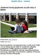 Jesienne kursy językowe za pół ceny w ESKK