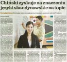 Chiński zyskuje na znaczeniu, języki skandynawskie na topie