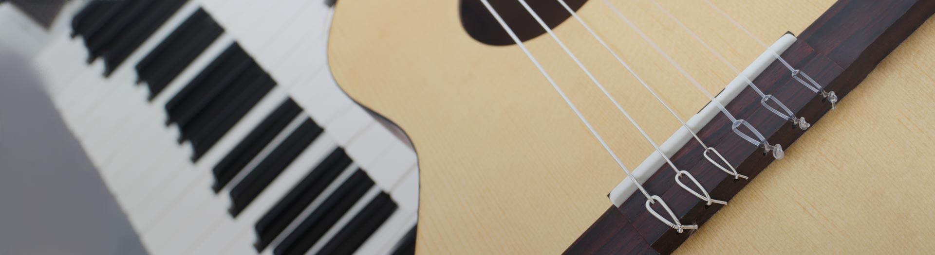 Nauka gry na<br />instrumentach muzycznych