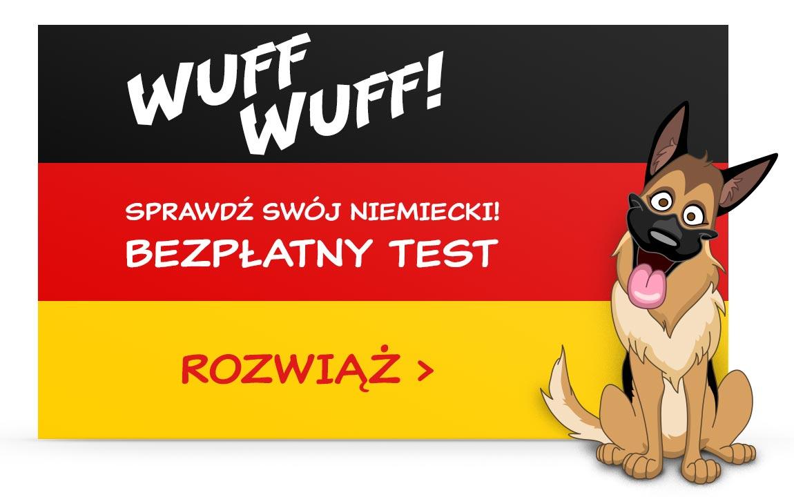 Test języka niemieckiego