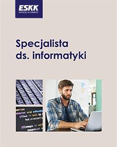 """Okładka kursu """"Specjalista ds. informatyki"""""""