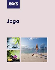 "Okładka kursu ""jogi"""