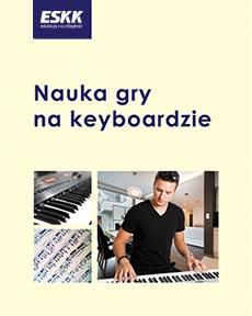 """Okładka kursu """"Nauka gry na keyboardzie"""""""