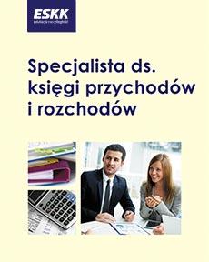 """Okładka kursu """"Specjalista ds. księgi przychodów i rozchodów"""""""