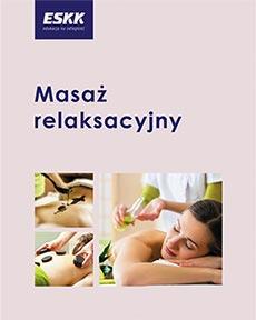 "Okładka kursu ""masażu relaksacyjnego"""