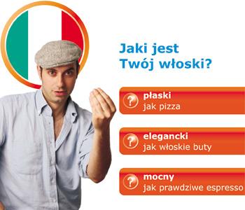 Test znajomości włoskiego